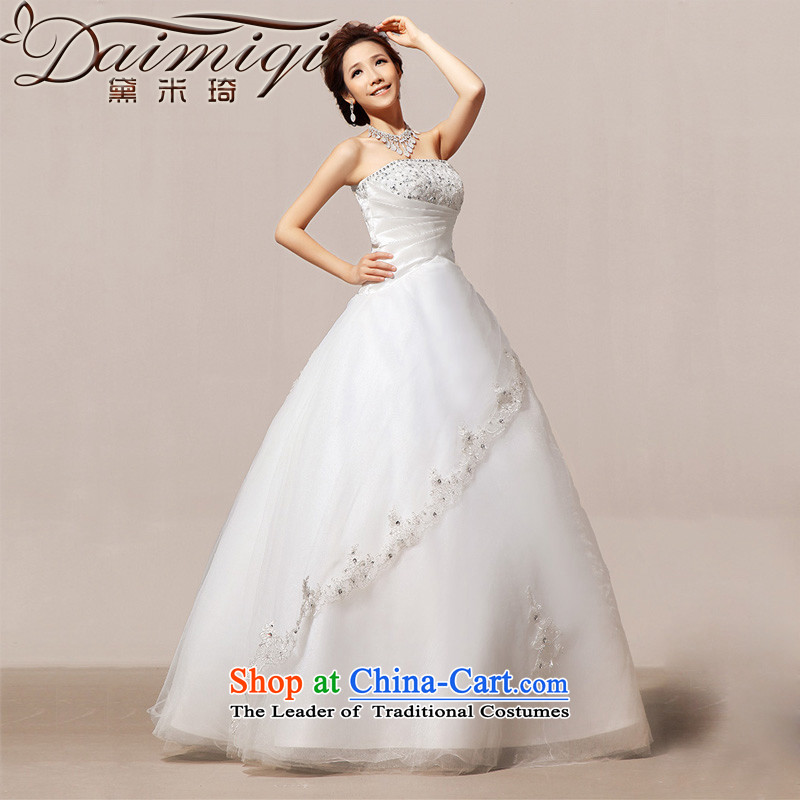 Doi m Qi Spring 2014 Sau San retro straps recommended bon bon Korean wedding dresses to align the M
