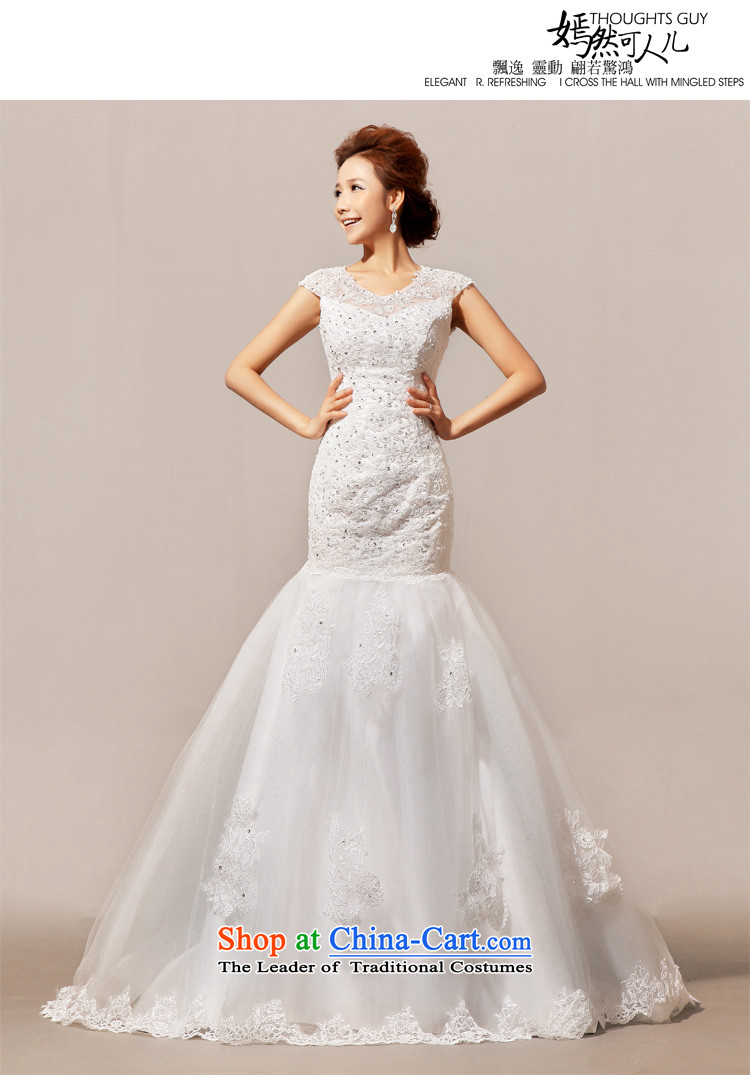 Doi m qi 2014 New Angel lace on small trailing wedding gown wedding dress whiteL picture, prices, brand platters! The elections are supplied in the national character of distribution, so action, buy now enjoy more preferential! As soon as possible.