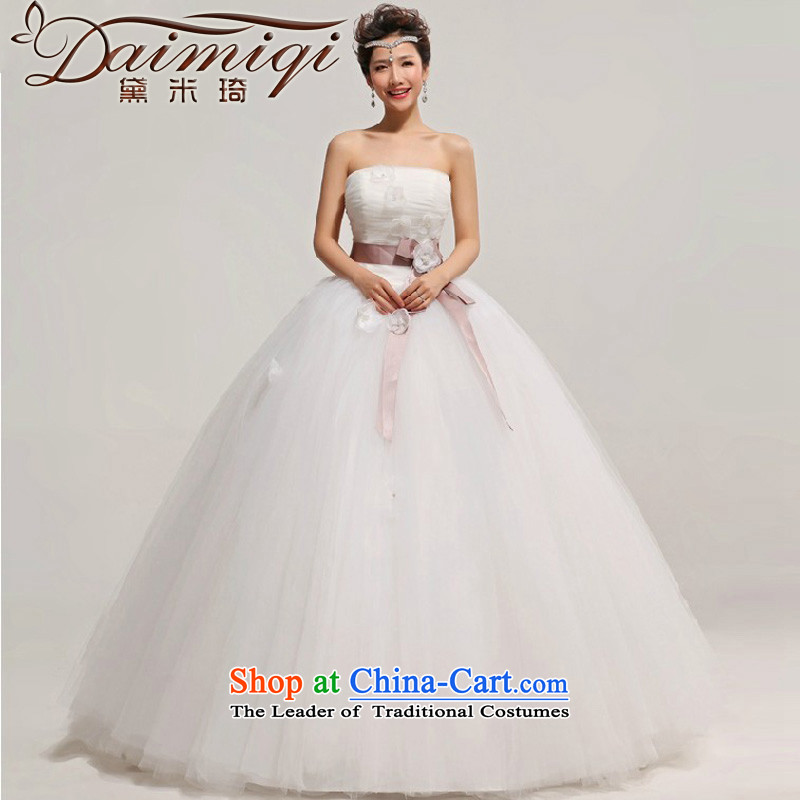 Doi m Ki Won The Princess Bride wiping the chest edition wedding dresses 2014 New with a large number of pregnant women custom high waist video thin white mother�S