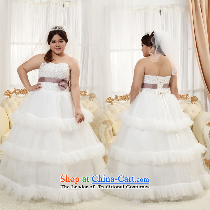 Shared Keun guijin wedding dresses new thick mm thin straps increase video wedding XXXXL maximum number code 3 wedding accessories�XXXL scheduled 3 days from Suzhou Shipment