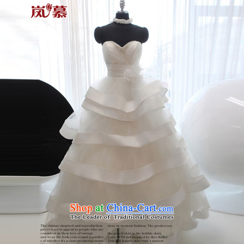 The sponsors of the 2015 New LAURELMARY, Korean Princess bon bon skirts and chest princess skirt?L(B=90/W=74) pure white