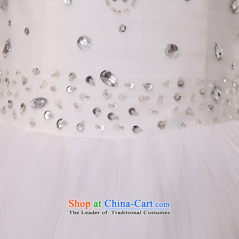 Doi m qi wedding dresses 2014 new minimalist wiping the chest to wedding Sau San video thin white wedding straps, WhiteXL, Demi Moor Qi , , , shopping on the Internet