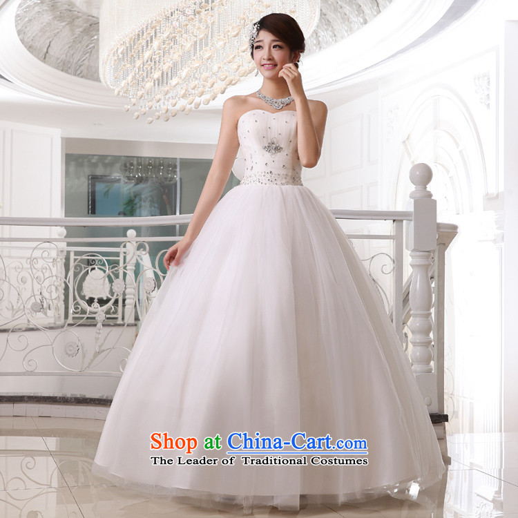 Doi m qi wedding dresses 2014 new minimalist wiping the chest to wedding Sau San video thin white wedding straps, White XL Photo, prices, brand platters! The elections are supplied in the national character of distribution, so action, buy now enjoy more preferential! As soon as possible.