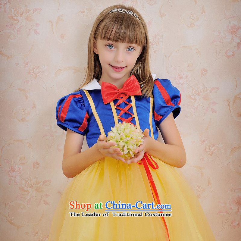 Click outside the shared Keun guijin children's wear dresses children will dance to Snow White bubble skirt t64 Halloween Blue M from Suzhou shipping�8 from Suzhou Shipment
