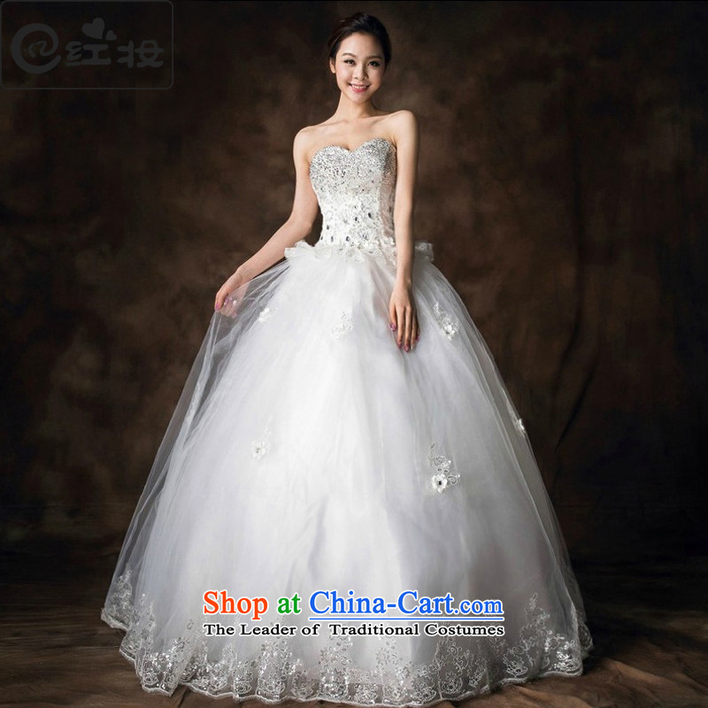 Recalling that hates makeup and summer 2015 new luxury Korean water drilling and chest straps wedding to align marriages H13711 replacing white?M Princess