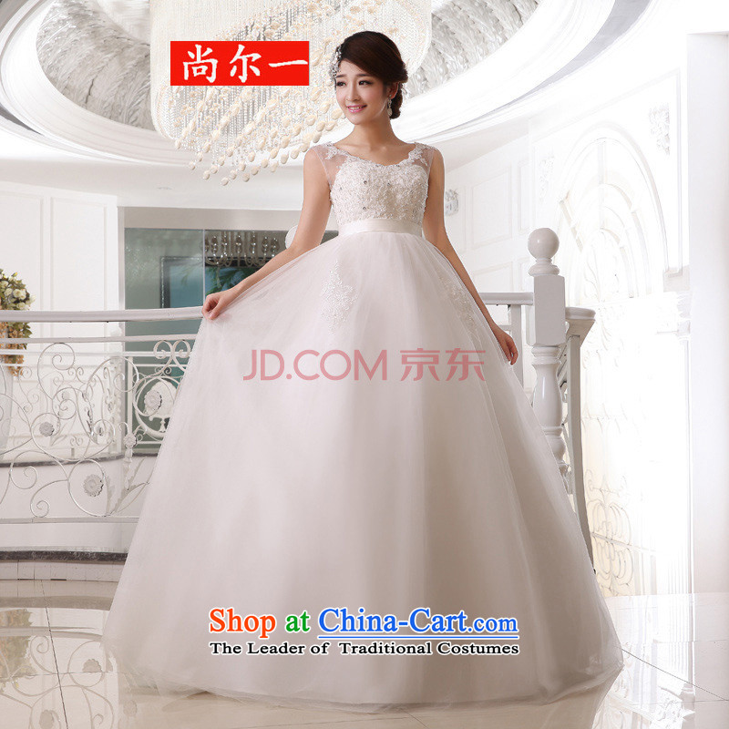Taiwan's 2014 bride Top Loin wedding dresses wedding shoulder straps wedding pregnant women bride wedding package�XXXL XS1923