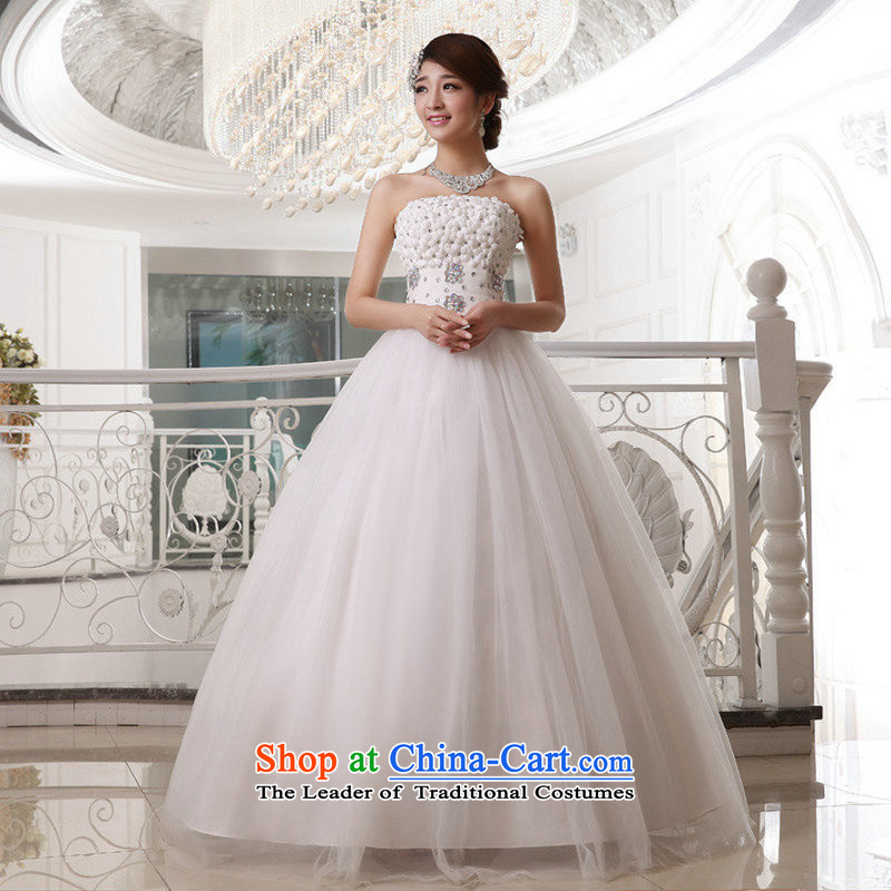 The population of Taiwan New 2013 wedding anointed Chest Flower wedding straps to align the bridal dresses XS1921 wedding package?XXL