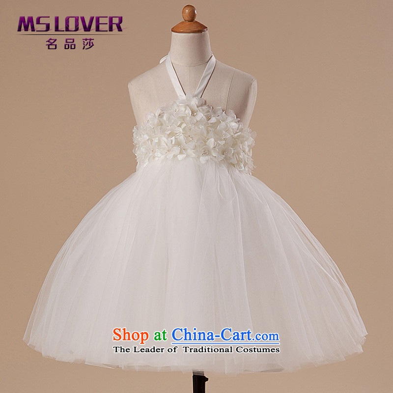 �Hang the history of dreams mslover bon bon skirt girls princess skirt children dance performances to dress wedding dress Flower Girls dress HTZ1282 rice white�2 code