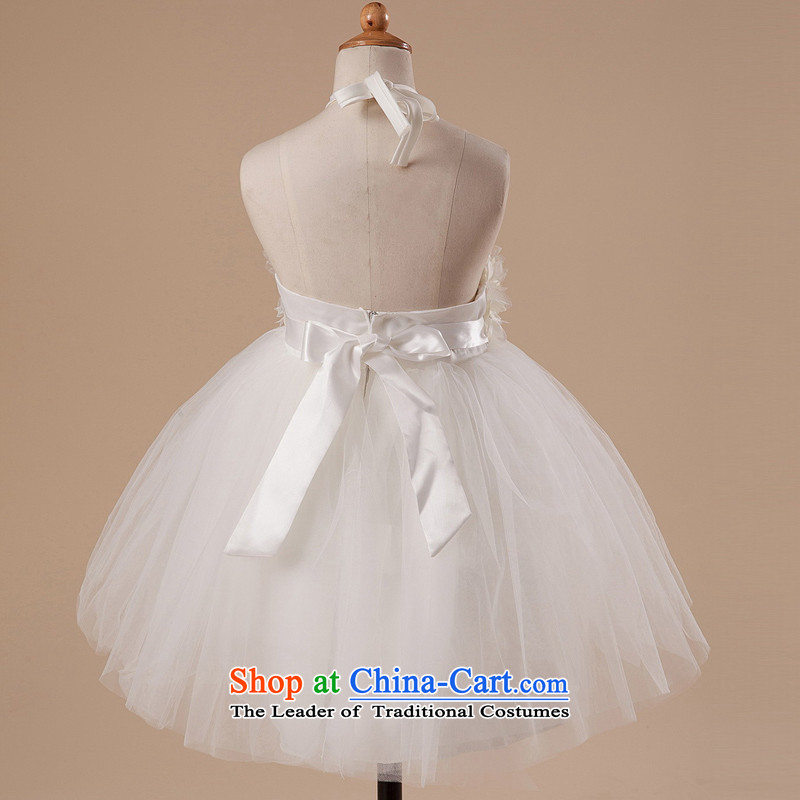 Hang the history of dreams mslover bon bon skirt girls princess skirt children dance performances to dress wedding dress Flower Girls dress HTZ1282 rice white 2 code, other Lisa (MSLOVER) , , , shopping on the Internet