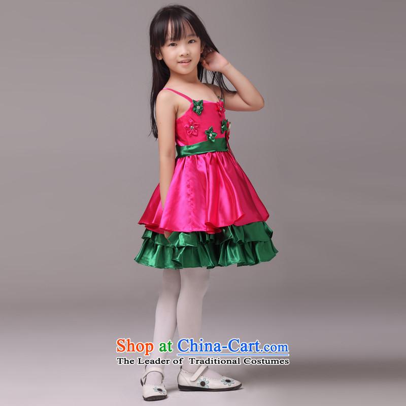 The lifting strap color mslover bon bon skirt girls princess skirt children dance performances to dress wedding dress Flower Girls dressin red6 code 8833, other Lisa (MSLOVER) , , , shopping on the Internet