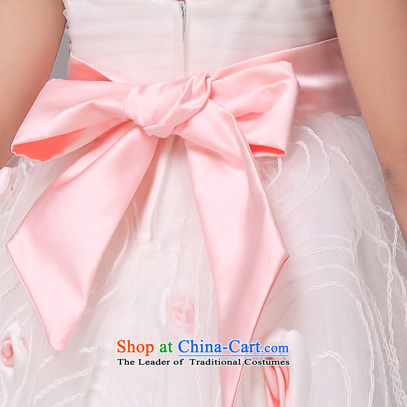 Mslover flowers lace bon bon skirt girls princess skirt children dance performances to dress wedding dress Flower Girls dress 8839 pink 10 yards (3-7 Day Shipping, Scheduled, Lisa (MSLOVER) , , , shopping on the Internet