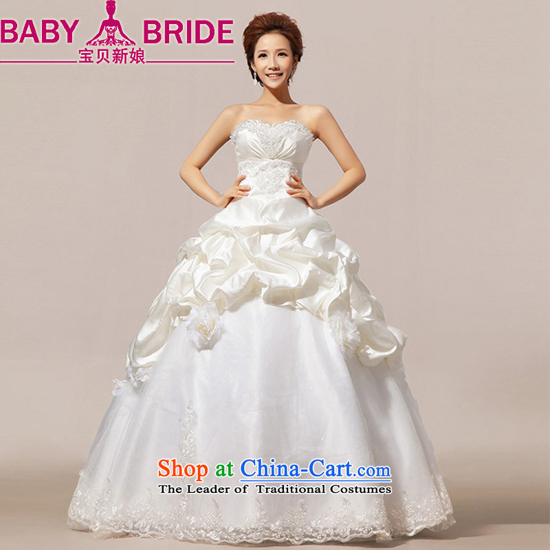 Baby bride wedding dresses new 2014 Korean sweet princess?vera wang?wei wang wei style wedding, Platinum Edition 10-?M