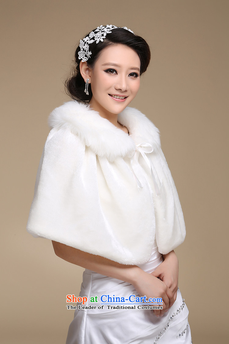 The bride wedding dresses cheongsam red and white small cloak gross shawl Korean New autumn warm winter PJ68 shawl m white hair picture, prices, brand platters! The elections are supplied in the national character of distribution, so action, buy now enjoy more preferential! As soon as possible.