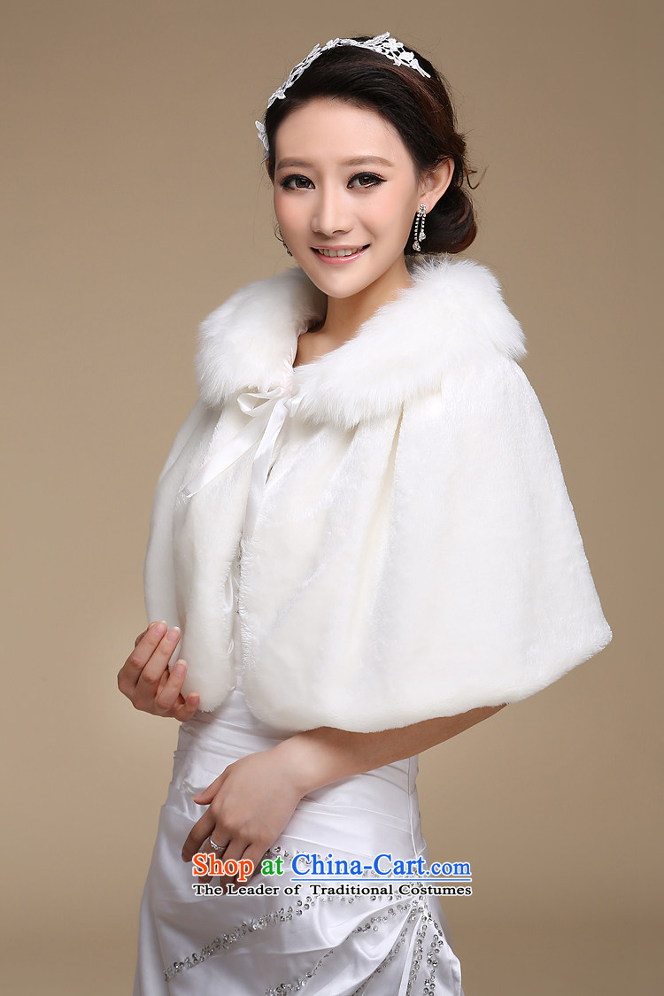 The bride wedding dresses cheongsam red and white small cloak gross shawl Korean New autumn warm winter聽PJ68 shawl m white hair picture, prices, brand platters! The elections are supplied in the national character of distribution, so action, buy now enjoy more preferential! As soon as possible.