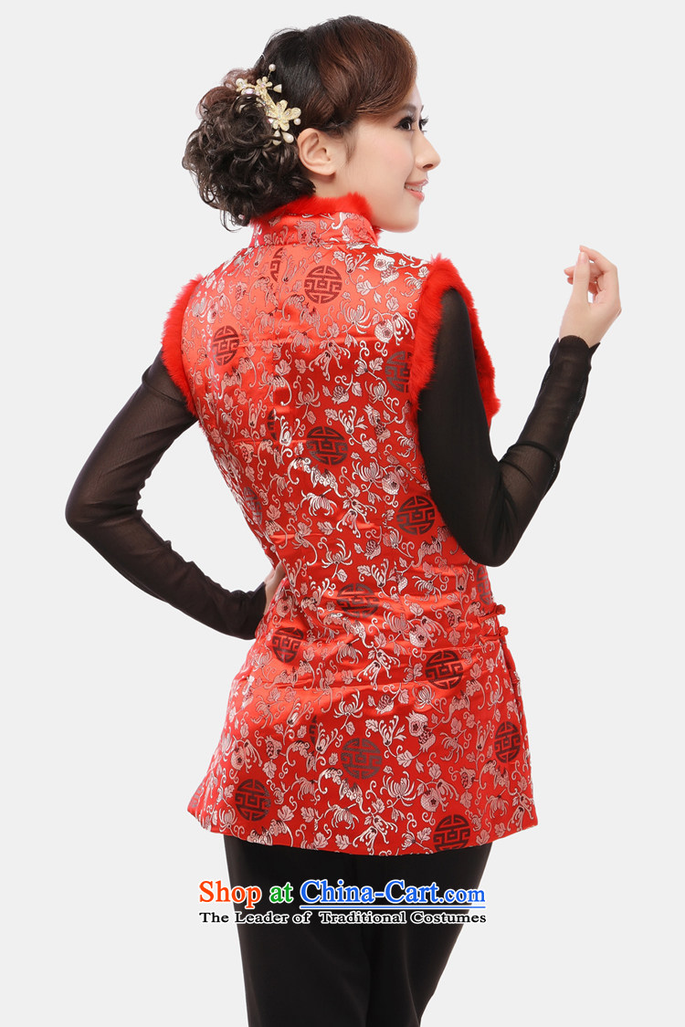 The former Yugoslavia Li Spring 2015 know Tang blouses female Ma 甲士 Chinese Long Folder cotton vest increase improved qipao ma folder, a 34 sherds of Caesars red vest XXXL picture, prices, brand platters! The elections are supplied in the national character of distribution, so action, buy now enjoy more preferential! As soon as possible.