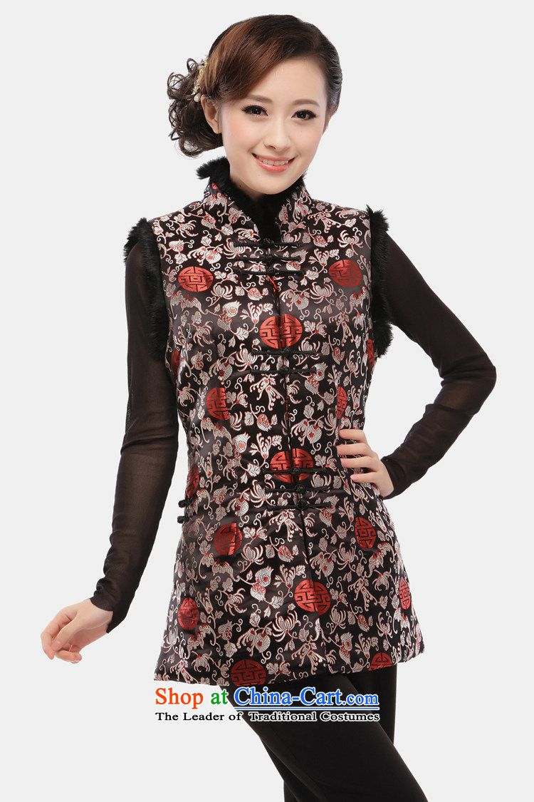The former Yugoslavia LiSpring 2015 know Tang blouses female Ma 甲士 Chinese Long Folder cotton vest increase improved qipao ma folder, a34sherds of Caesars red vestXXXL picture, prices, brand platters! The elections are supplied in the national character of distribution, so action, buy now enjoy more preferential! As soon as possible.