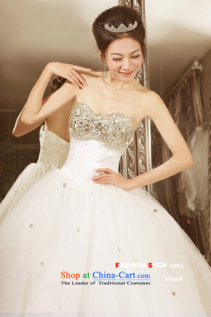 Beijing No. year wedding dresses Kyrgyz-american married new Korean arts 2015 edition anointed chest princess skirt water drilling bon bon skirt 535 bride wedding ivory 0.5 m tail XL Photo, prices, brand platters! The elections are supplied in the national character of distribution, so action, buy now enjoy more preferential! As soon as possible.
