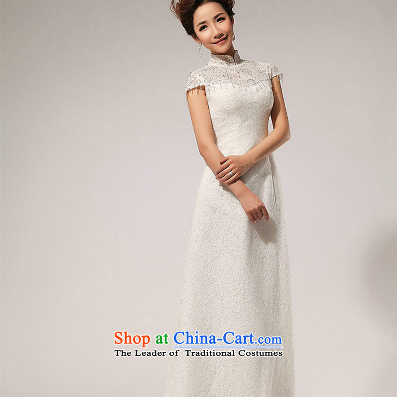 There is also optimized 8D lace retro-shoulder retro crowsfoot wedding dresses and sexy XS5238 minimalist white�S
