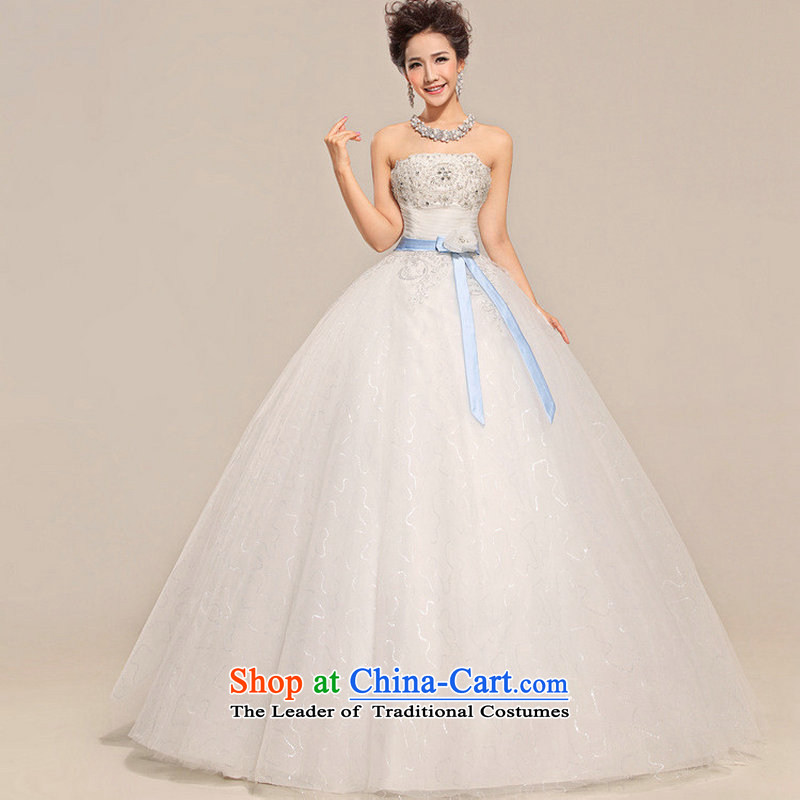 There is also optimized 8D wedding dresses Top Loin ribbon graphics with bore Jacob coltish wedding XS5222 White�M