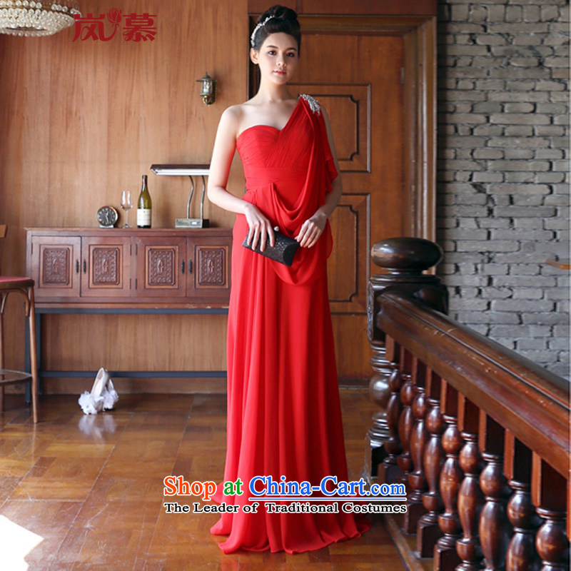 ?In the new LAURELMARY bridal dresses elegant evening drink at the bride services atmospheric performances evening dress) figure as the size of the large red