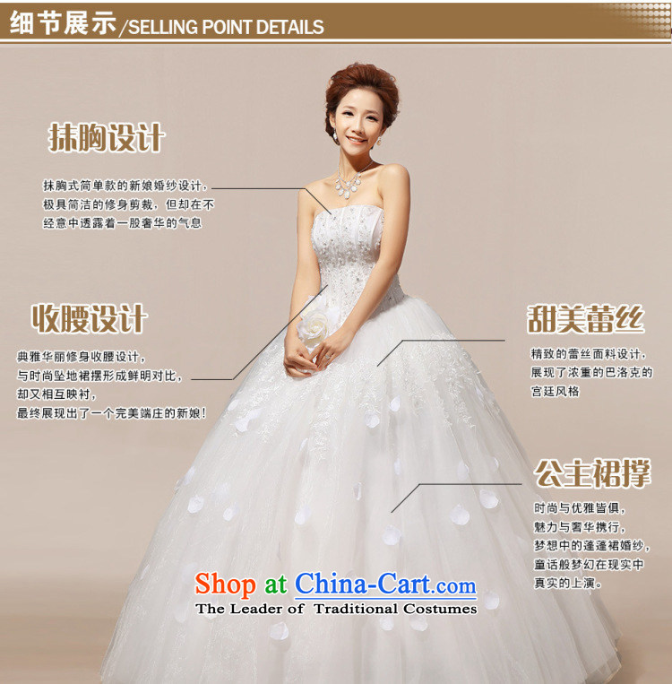 Optimize video new spring and summer 2014 Korean wiping the chest straps to align the diamond wedding dresses XS7037 marriages m White聽XL Photo, prices, brand platters! The elections are supplied in the national character of distribution, so action, buy now enjoy more preferential! As soon as possible.
