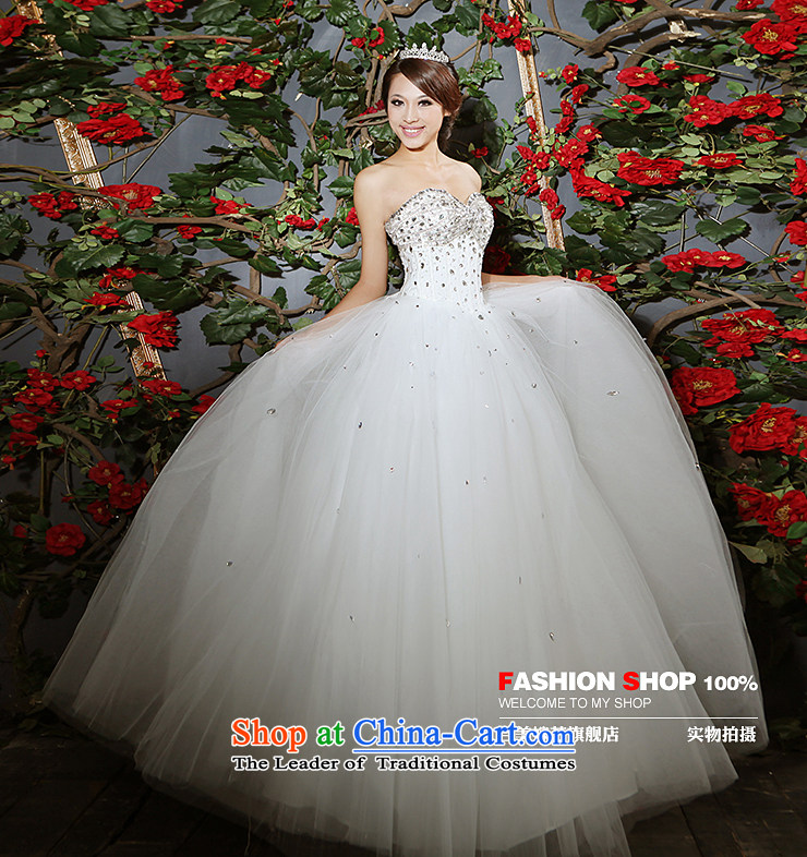 Beijing No. year wedding dresses Kyrgyz-american married arts 2013 new anointed chest Korean skirt to align bon bon HS601 bride wedding ivory L picture, prices, brand platters! The elections are supplied in the national character of distribution, so action, buy now enjoy more preferential! As soon as possible.