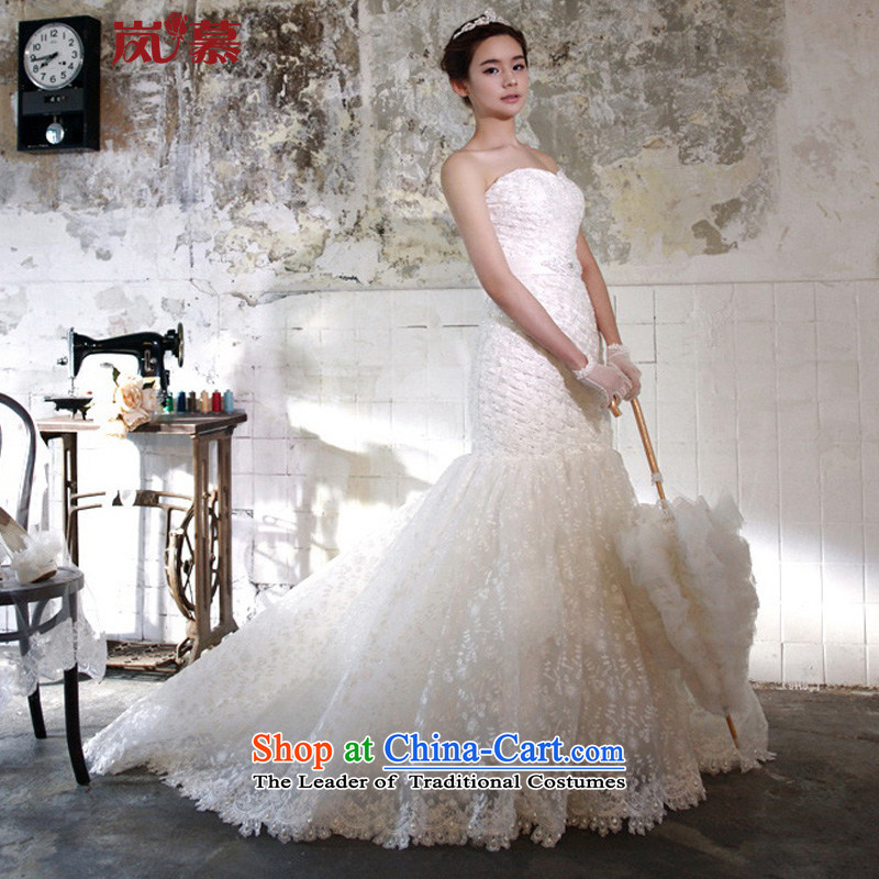 The sponsors of the 2015 New LAURELMARY) received pockets and a crowsfoot Sau San full lace small trailing wedding ivory Custom Size (please contact Customer Service)
