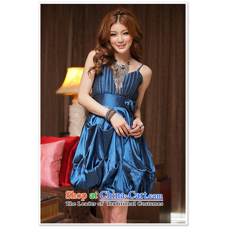 Summer products sweet aristocratic pressure folds lanterns are blue skirt code