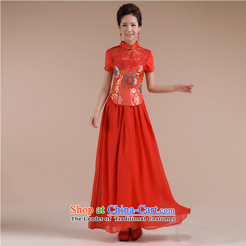 There is also a grand new optimize the use of the Sau San Fine Pattern Short tulle dress suit XS7109 RED�L