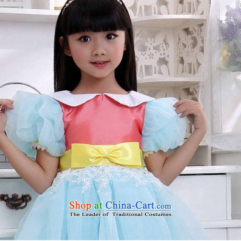 Optimize video new bon bon Flower Girls dress the skirt will XS8043 children candy colored 10