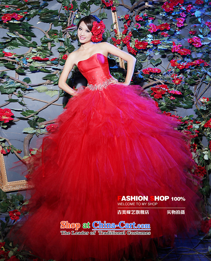 Beijing No. year wedding dresses Kyrgyz-american married new anointed arts 2015 Chest Korean Princess bon bon skirt to align 603H bride wedding reduced XS picture, prices, brand platters! The elections are supplied in the national character of distribution, so action, buy now enjoy more preferential! As soon as possible.