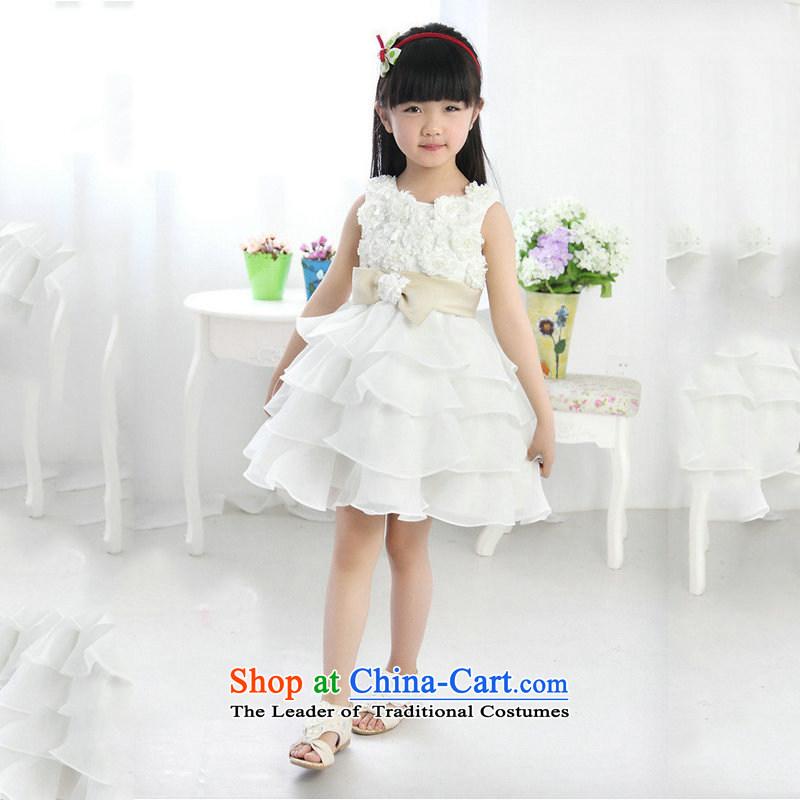 There is also optimized 8D girls dress bon bon skirt Korean Princess skirt new XS1008 upscale White�4 code