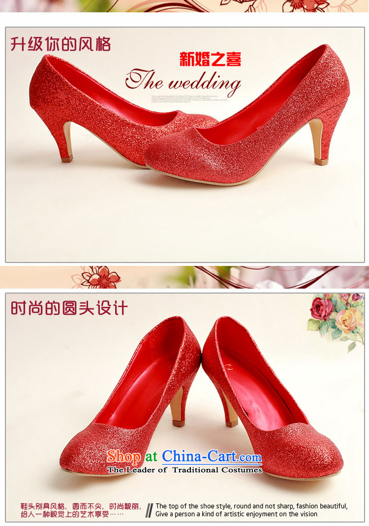 Doi m qi marriage shoes wedding dress shoes shoes bride shoes marriage the the high-heel shoes banquet shoes red shoes stage performances DXZ1008 shoes red 37 pictures, prices, brand platters! The elections are supplied in the national character of distribution, so action, buy now enjoy more preferential! As soon as possible.