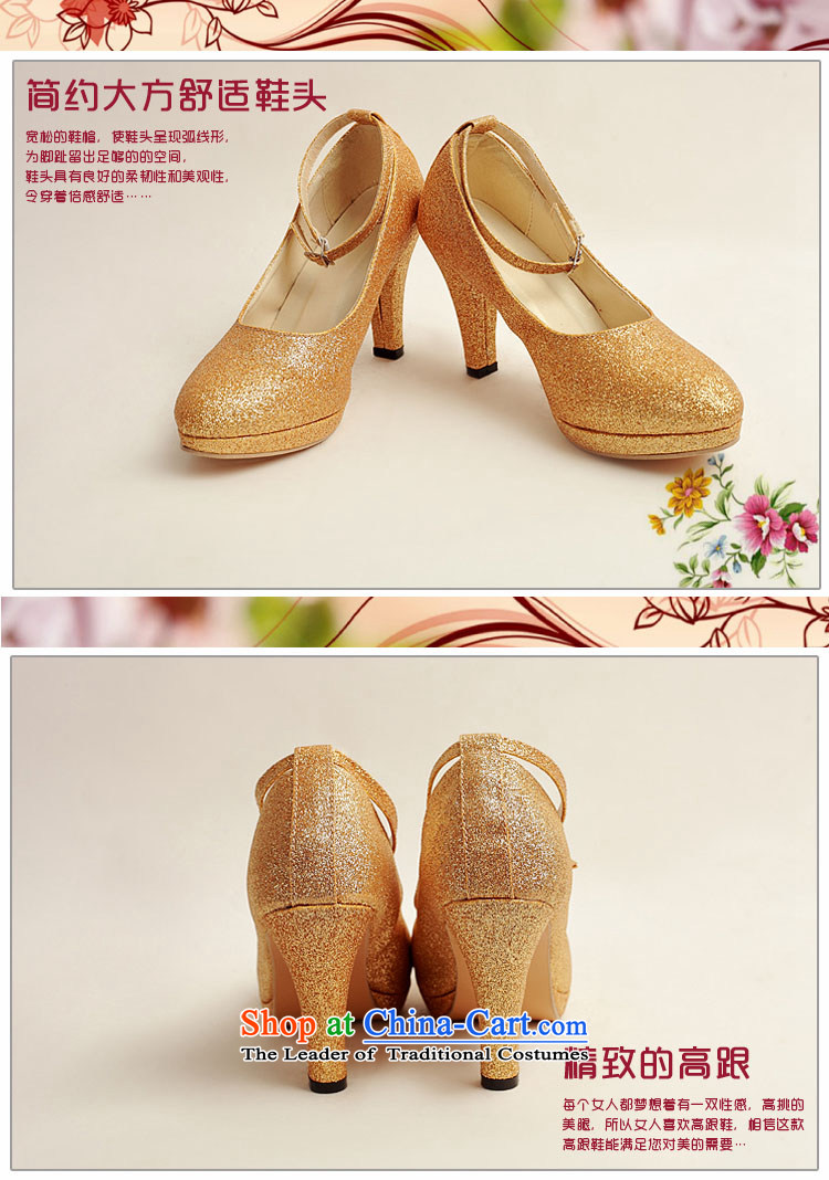Baby marriages shoes wedding dress shoes shoes bride shoes marriage the the high-heel shoes banquet shoes gold shoe stage performances XZ10020 gold shoe Golden 37 pictures, prices, brand platters! The elections are supplied in the national character of distribution, so action, buy now enjoy more preferential! As soon as possible.