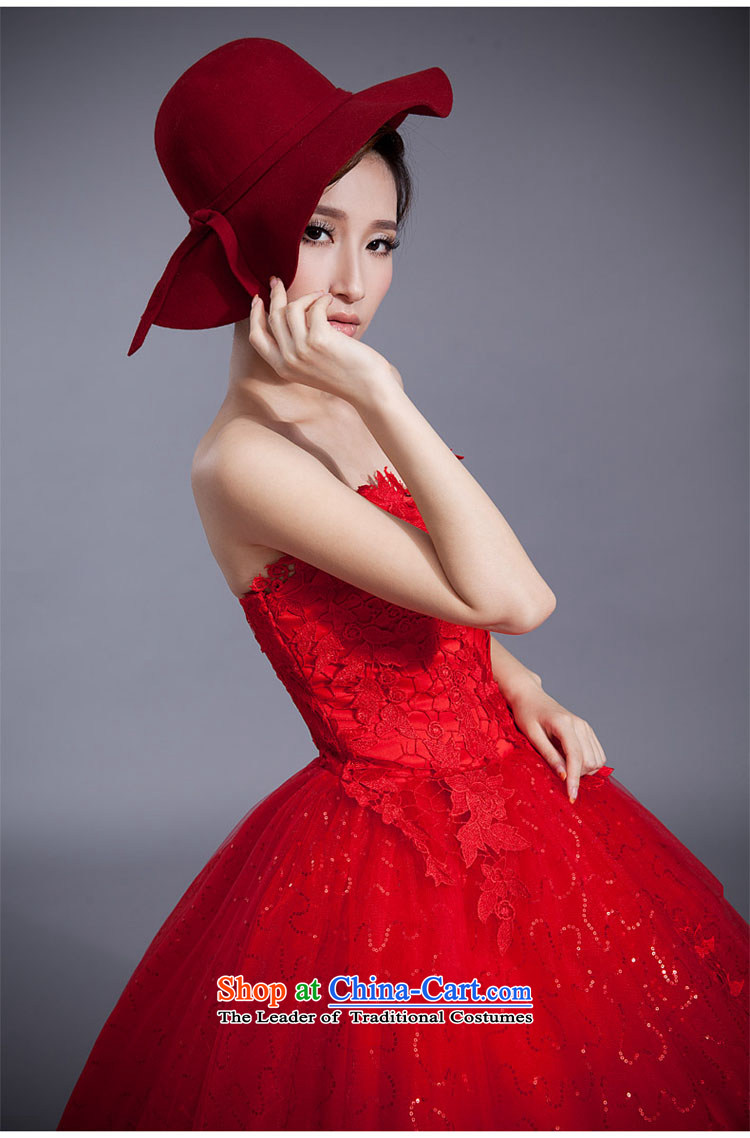 Doi m qi red wedding dresses lace new stylish bride Korean 2014 align to Sau San larger straps retro graphics thin red XXL picture, prices, brand platters! The elections are supplied in the national character of distribution, so action, buy now enjoy more preferential! As soon as possible.