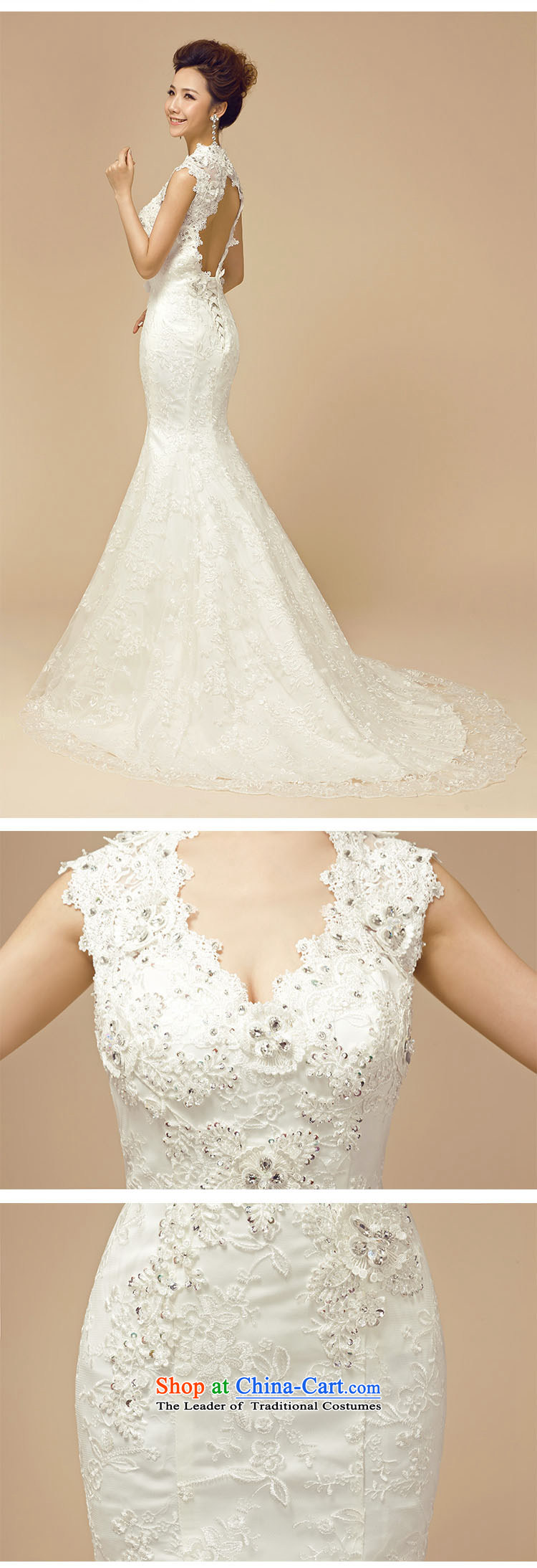 Doi m qi wedding dresses new 2014 Winter Korean marriages white package shoulder Diamond Video thin trailing white L wedding pictures, prices, brand platters! The elections are supplied in the national character of distribution, so action, buy now enjoy more preferential! As soon as possible.