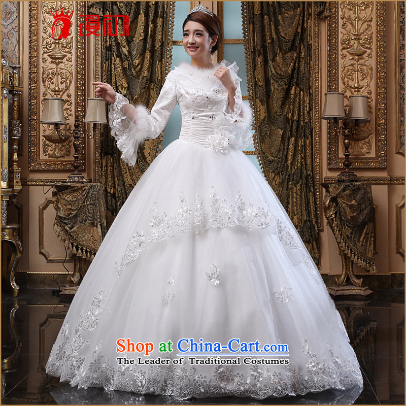 In the early 2015 new man winter wedding winter thick wedding dresses long-sleeved winter) Marriages Wedding White聽XL code, spilling the early shopping on the Internet has been pressed.