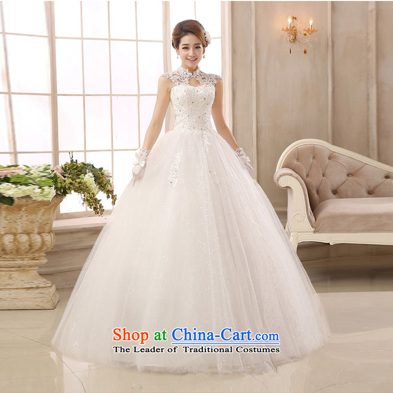 Wedding dresses winter) grants shawl stylish lace collar package shoulder back to align the court with retro Sau San video thin white customization required message