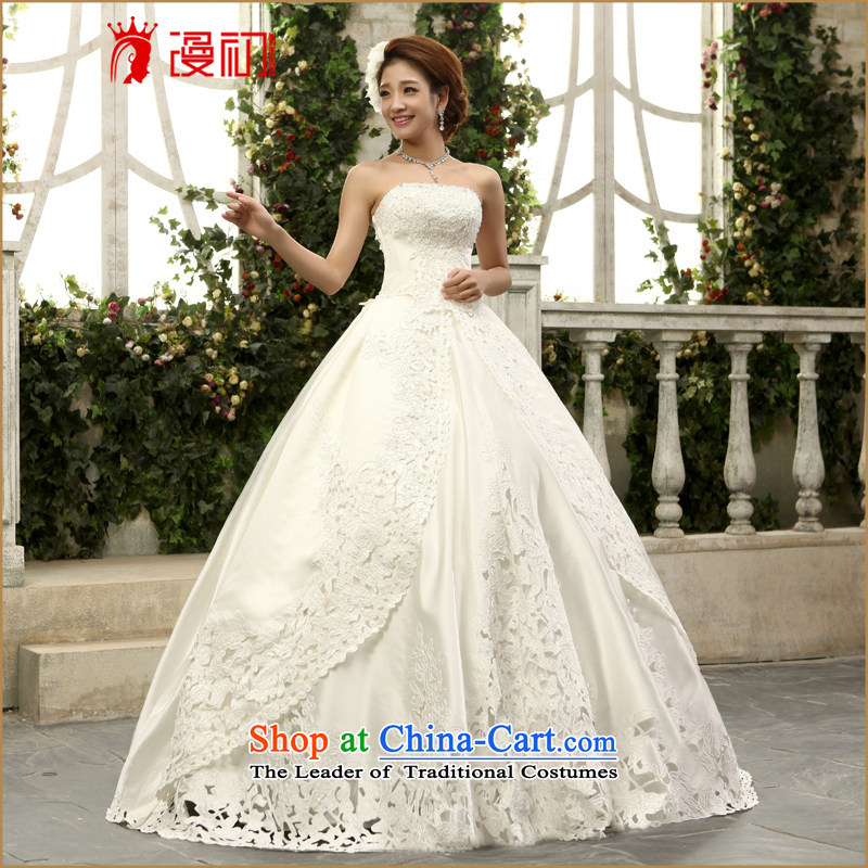 At the beginning of Castores Magi Wedding 2015 new Korean anointed chest Wedding Car gorgeous elegant embroidered with bone graphics to align the thin white wedding to contact Customer Service