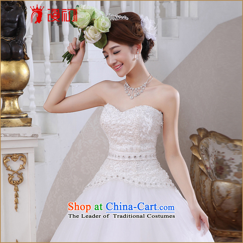 At the beginning of the New Year 2015 Castores Magi video thin wedding dresses Korean anointed chest to marry a swing video thin white wedding , L, Early Man , , , shopping on the Internet