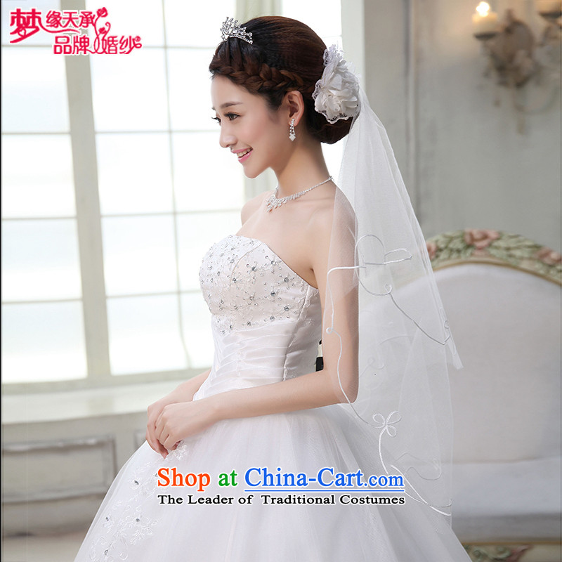 The leading edge of the days of the wedding dress accessories MARRIAGE AND LEGAL TS006 champagne color WHITE/ WHITE