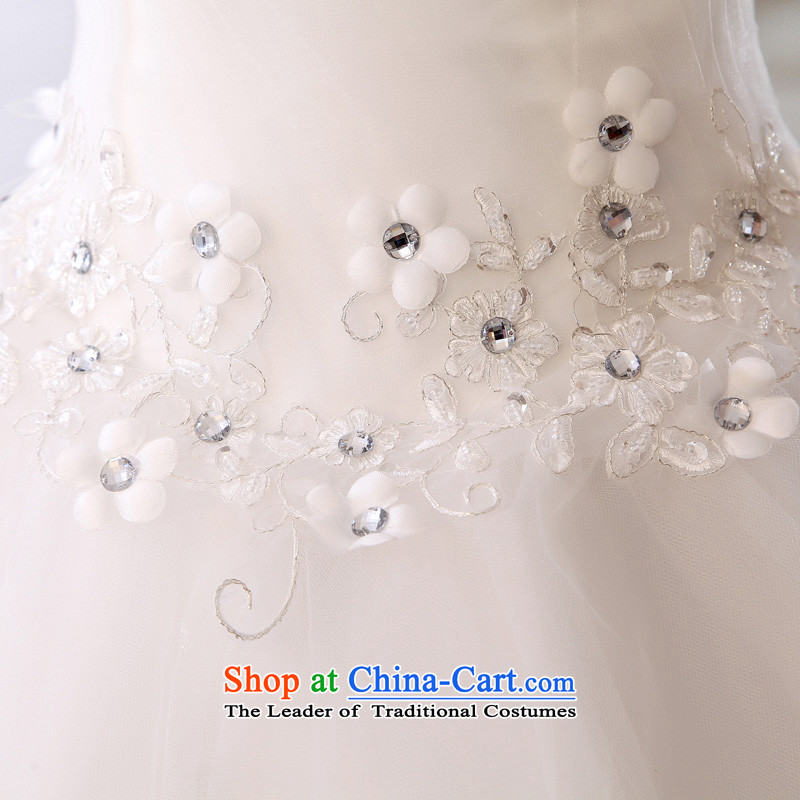 The leading edge of the days of the wedding dresses alignment with chest, Japan and the Republic of Korea 2015 new lace wedding dress 109 White M DREAM edge days seung , , , shopping on the Internet