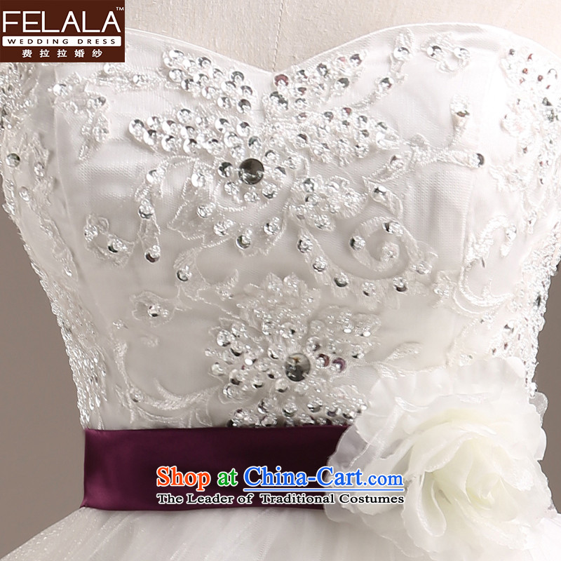Ferrara 2015 new anointed chest marriages wedding Korean Flower Princesses bon bon yarn large tail large white M Suzhou shipment of Ferrara wedding (FELALA) , , , shopping on the Internet