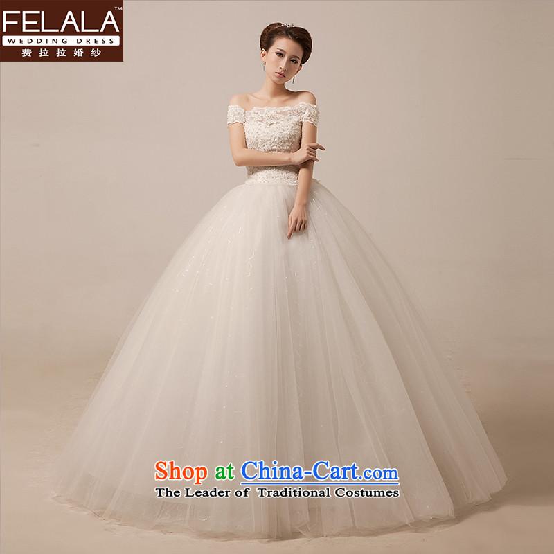 Ferrara?2015 new sweet word shoulder wedding Korean Princess lace video thin bon bon yarn stars of the same white?S?Suzhou Shipment