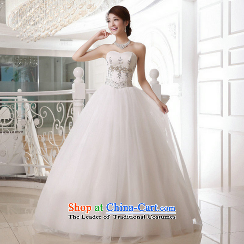 There is also a grand 2014optimize new and chest thin flash align graphics to yarn strap bride wedding XS1063?XXXL White