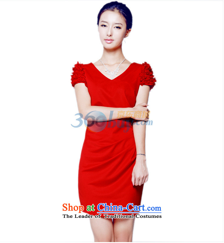 Mak-hee of the new Marriage 2014 Red Dress Short, bows to Sau San Korean wedding dress bride red M/160 picture, prices, brand platters! The elections are supplied in the national character of distribution, so action, buy now enjoy more preferential! As soon as possible.