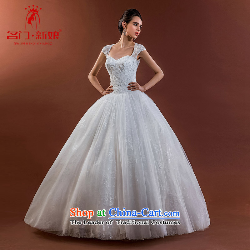 A new bride 2015 wedding package shoulder lace video thin wedding bon bon princess wedding A530 M
