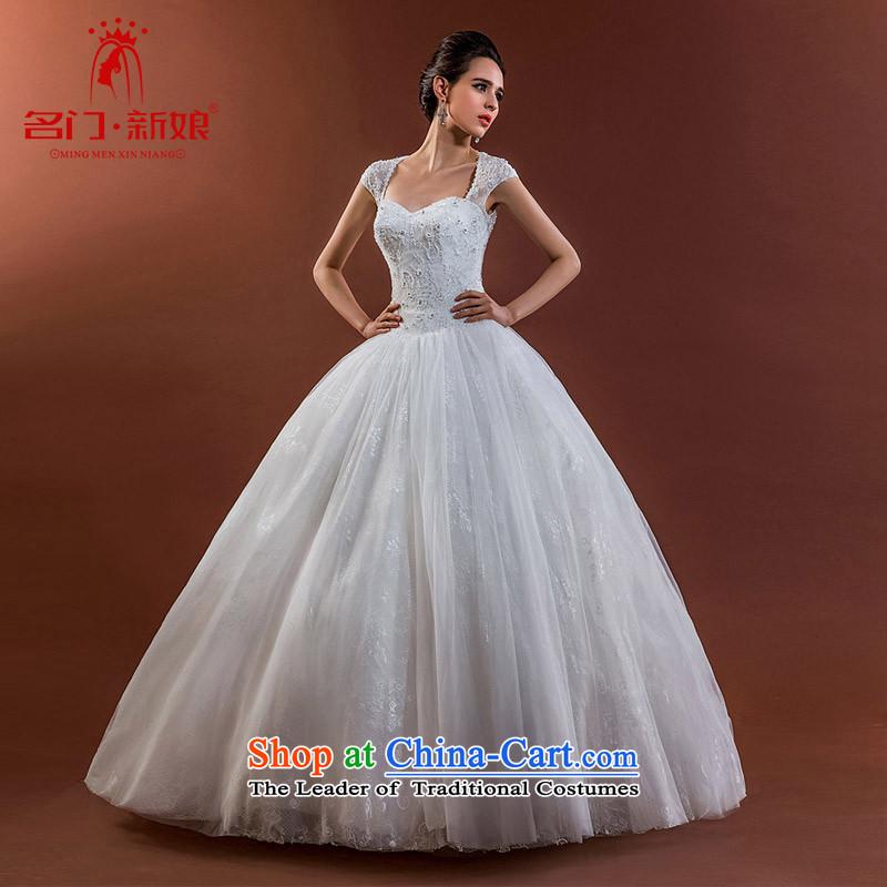 A�new bride 2015 wedding package shoulder lace video thin wedding bon bon princess wedding�A530 M