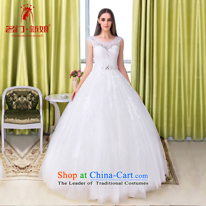 A聽new bride 2015 bon bon wedding princess wedding lace package shoulder large petticoats wedding 534 S