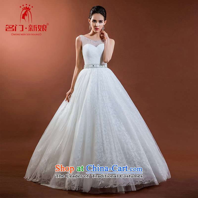 A new bride 2015 stylish and simple wedding big western design graphics thin wedding 579 M